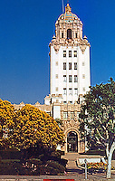 Los Angeles: Beverly Hills City Hall. William J. Gage, 1932. Photo '85.