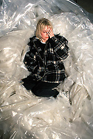 FRANCE GALL<br /> 1994<br /> © TERRASSON/ DALLE