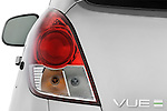 Tail light close up detail view of a 2008 Saturn Vue Greenline