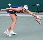 Angelique Kerber, (GER) defeats Evgeniya Rodina (RUS)3-6, 6-3, 6-4  at the Family Circle Cup in Charleston, South Carolina on April 7, 2015.