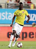 Colombia's Davison Sanchez during international friendly match. June 7,2017.(ALTERPHOTOS/Acero) (NortePhoto.com) (NortePhoto.com)