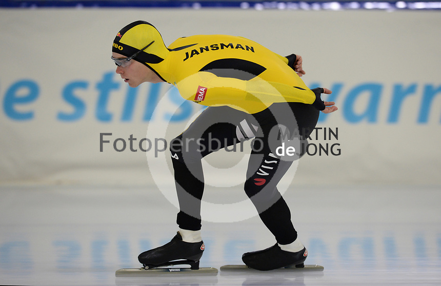 SCHAATSEN: HEERENVEEN, IJsstadion Thialf, 02-10-2020, TEAM JUMBO/VISMA, Kars Jansman, ©foto Martin de Jong