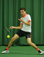 Rotterdam, The Netherlands, March 18, 2016,  TV Victoria, NOJK 14/18 years, Raphael Mujan (NED)<br /> Photo: Tennisimages/Henk Koster