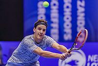 Rotterdam, Netherlands, December 15, 2017, Topsportcentrum, Ned. Loterij NK Tennis,  Justin Eleveld (NED)<br /> Photo: Tennisimages/Henk Koster