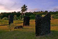 Sunrise at the Stone Monolith