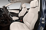 Front seat view of a 2018 Hyundai Santa Fe Sport Base 5 Door SUV front seat car photos