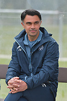 head coach Johan Walem of Anderlecht  pictured during a female soccer game between Club Brugge Dames YLA and RSC Anderlecht on the third matchday of the 2021 - 2022 season of Belgian Scooore Womens Super League , saturday 4 september 2021in Aalter , Belgium . PHOTO SPORTPIX   DIRK VUYLSTEKE