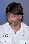 01.06.2012. Telecinco presents its official schedule for the transmission of Eurocup 2012 to the Ciudad del Futbol of Las Rozas, Madrid. In the image Fernando Morientes (Alterphotos/Marta Gonzalez)