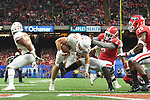 Texas defeats Georgia, 28-21, in the 2019 Allstate Sugar Bowl played in the Mercedes-Benz Superdome in New Orleans, LA.