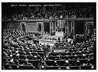 Pres. Wilson addressing Congress<br /> <br /> 4-8-1913
