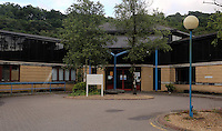 Pictured: Ystradgynlais Hospital, Powys, Wales UK. Wednesday 29 June 2016<br />Re: Rescuers have found a number of the 24 children who went missing the Brecon Beacons.<br />Dyfed-Powys Police said a Coastguard helicopter had found some the children, who are from St Albans, Hertfordshire.<br />The helicopter has landed and the crew are with the children, but their condition is not known.<br />The alarm was raised at about 13:00 BST after the groups went missing around Llyn y Fan Fach, near Abercraf.<br />The children are in their mid teens and were on the beacons as part of their Duke of Edinburgh Award.<br />Mark Moran from Central Beacons Mountain Rescue said his team had been in intermittent phone contact with the four groups of six children before the first group were found.