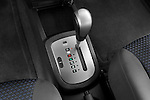 Gear shift detail view of a 2008 Chevrolet Aveo 5 LS