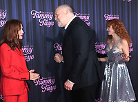 September 14, 2021. Isabelle Huppert, Vincent D'Onofrio, Jessica Chastani, attend Searchlight Pictures premiere of The Eyes of Tammy Faye  at<br /> SVA Theatre in New York September 14, 2021 Credit:RW/MediaPunch