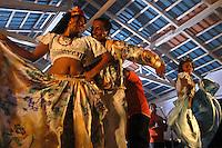 Dança do Carimbó apresentada durante as comemorações pelos 173 anos do município.<br /> Cachoeira do Arari, Pará, Brasil.<br /> 06/05/2006<br /> Foto Paulo Santos/Interfoto