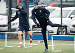 St Johnstone Training….29.01.19    McDiarmid Park<br />Murray Davidson pictured during training ahead of tomorrow's game at Celtic<br />Picture by Graeme Hart.<br />Copyright Perthshire Picture Agency<br />Tel: 01738 623350  Mobile: 07990 594431