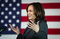 APR 29 Kamala Harris visits vaccination site in Baltimore