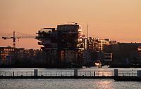 Nederland  Amsterdam  2020.  Houthaven nieuwbouw.   Foto : ANP/ HH / Berlinda van Dam