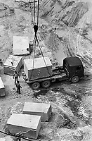 - Carrara, marble quarries (June 1977)....- Carrara, cave di marmo (giugno 1977)