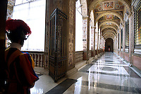 Pontifical Swiss Guard Apostolic Palace the Vatican.The Corps of the Pontifical Swiss Guard or Swiss Guard,Guardia Svizzera Pontificia,responsible for the safety of the Pope, including the security of the Apostolic Palace. It serves as the de facto military of Vatican City..10/01/2008.