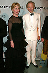 Hillary Rodham Clinton and Tom Wolfe attending  the Literacy Partners 20th  Annual Gala,<br />