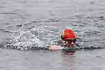 Fionnuala Ní Earcáin at the Green Buoy 1KM Swim in Clogherhead...(Photo credit should read Jenny Matthews/NEWSFILE)...