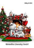 Roger, CHRISTMAS ANIMALS, WEIHNACHTEN TIERE, NAVIDAD ANIMALES, paintings+++++,GBRM19-0093,#xa#