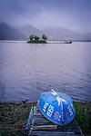 """Kawakubo Terayashiki"", Also knows as ""Rokkakudo (hexagon temple)"" on Lake Kawaguchiko,one of the Five Lakes in Mt. Fuji, Japan"