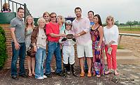 Poppy's Double winning at Delaware Park on 6/8/13