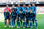 Real Madrid squad poses for photos prior to the La Liga 2017-18 match between Valencia CF and Real Madrid at Estadio de Mestalla  on 27 January 2018 in Valencia, Spain. Photo by Maria Jose Segovia Carmona / Power Sport Images
