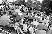 1979, Hilversum, Dutch Open, Melkhuisje, Regen