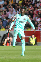 Yves Bissouma of Brighton & Hove Albion in action during Brentford vs Brighton & Hove Albion, Premier League Football at the Brentford Community Stadium on 11th September 2021