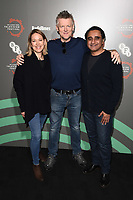 """Nicola Walker, Chris Laing and Sanjeev Bhaskar<br /> at the """"Unforgotten"""" photocall as part of the BFI & Radio Times Television Festival 2019 at BFI Southbank, London<br /> <br /> ©Ash Knotek  D3494  13/04/2019"""