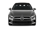 Car photography straight front view of a 2019 Mercedes Benz A-Class-Sedan A-220 4 Door Sedan Front View
