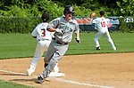 Ross Puskarich of Bakersfield rounds third base during the Bakersfield v Maryland game Monday afternoon during the 2009 Cal Ripken World Series