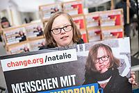 2019/04/10 Politik | Gesundheit | Protest gegen Trisomie-Test