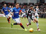 03.11.18 St Mirren v Rangers: James Tavernier and Ryan Edwards