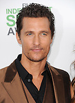Matthew McConaughey attends The 2014 Film Independent Spirit Awards held at Santa Monica Beach in Santa Monica, California on March 01,2014                                                                               © 2014 Hollywood Press Agency