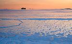 Frozen sea, Helsinki