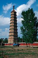 China, Chengde, Liu He-Pagode; Unesco-Weltkulturerbe