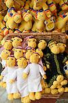 United Arab Emirates, Dubai: Camel soft toys on sale in tourist souvenir shop