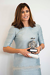 """Edurne Pasaban during the 6th edition of the collecting badges to the new ambassadors fees """"Marca España"""" in his 6th edition at BBVA City in Madrid, November 12, 2015.<br /> (ALTERPHOTOS/BorjaB.Hojas)"""