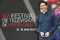 FESTIVAL TELEVISION DE MONTE CARLO - PHOTOCALL 'CRIMINAL MINDS' AVEC THOMAS GIBSON