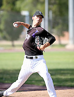 Parker Frazier / Colorado Rockies 2008 Instructional League..Photo by:  Bill Mitchell/Four Seam Images