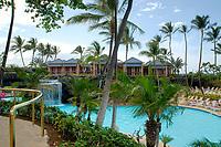 Hilton Waikoloa, Waikoloa Beach, The south Kohala coast, The Big Island of Hawaii