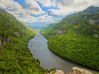 Lower Ausable Lake from Indian Head