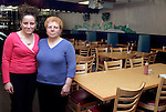 WATERTOWN, CT-- 28 January 2005   012805DA03.JPG -- Nonna Lucia's. (Owners) from left, Sabrina Signore and Raffaella Signore. For marketplace. Staff photo. Darlene Douty.