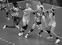 EHF Champions League Handball Damen / Frauen / Women - HC Leipzig HCL : SD Itxako Estella (spain) - Arena Leipzig - Gruppenphase Champions League - im Bild: XXXX. Foto: Norman Rembarz .