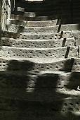 Sydney, Australia. Worn stone steps.