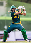 Corne Dry of South Africa hits a shot during Day 2 of Hong Kong Cricket World Sixes 2017 Cup final match between Pakistan vs South Africa  at Kowloon Cricket Club on 29 October 2017, in Hong Kong, China. Photo by Yu Chun Christopher Wong / Power Sport Images