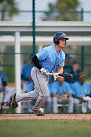 Tampa Bay Rays Chris Betts (26) at bat during an Instructional League game against the Pittsburgh Pirates on October 3, 2017 at Pirate City in Bradenton, Florida.  (Mike Janes/Four Seam Images)